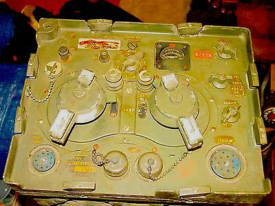 US Army Signal Corps RT-66/GRC Transceiver 20-28 Mhz (12 & 15 Meters) FM SN7943