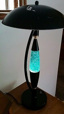 Vintage Rare torchiere 3 way Lava Glitter Motion Lamp - Working