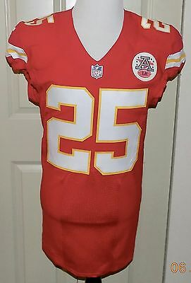 2016 NIKE, 25JAMAAL CHARLES, COA, AUTOGRAPHED AUTHENTIC, CHIEFS Jersey, 42 L-BK