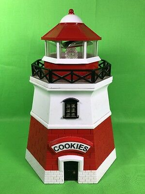 Lighthouse Cookie Jar Working Light And Sound and Foghorn Fun-Damental Too