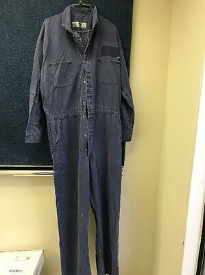 RED KAP Men's Long Sleeve 100% Cotton Coverall Work  Navy 50-LN Extra Large Long
