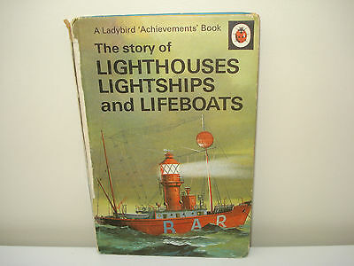 The Story of Lighthouses, Lightships and Lifeboats (Ladybird)