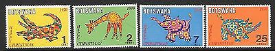 BOTSWANA, SC 67-70, 1970 Christmas issue, complete set of 4. MNH.