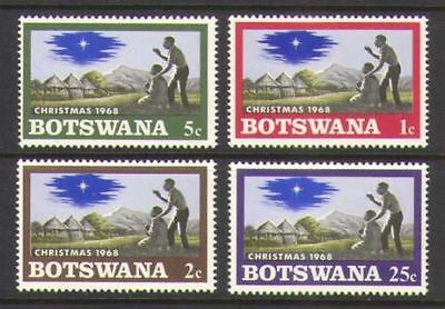 BOTSWANA, SC 47-50, 1968 Christmas issue. Full set. MNH.