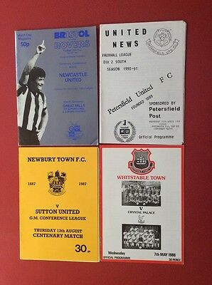 4 centenary programmes from seasons 85/86 87/88 83/84 90/91