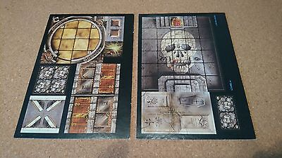 Heroquest Return Of The Witchlord Full Set of Boards tiles Hero Quest Expansion