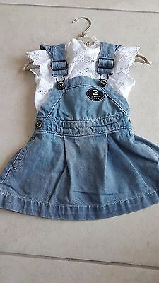 Next Girls 2 Piece Outfit Bnwt Age 9-12 Months