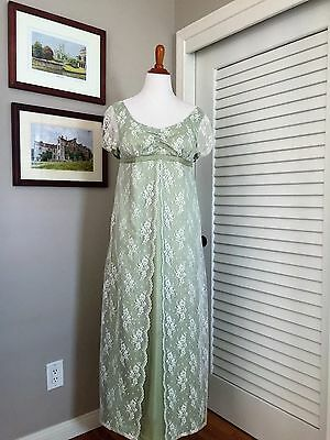 Jane Austen Regency Gown by Iblamejanetoo - U. S. size 8
