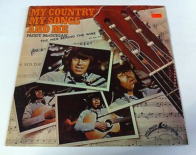 Paddy McGuigan. My country My Songs and Me. Dolphin records. DOLM 5012. Lp.