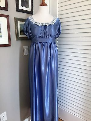 Jane Austen Regency Gown by Iblamejanetoo - U. S. size 12-14