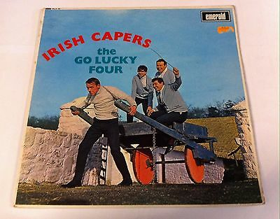 The Go Lucky Four. Irish Capers. Emerald records. MLD 23. Lp.