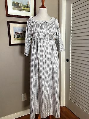 Jane Austen Regency Gown by Iblamejanetoo - U. S. size 14-16
