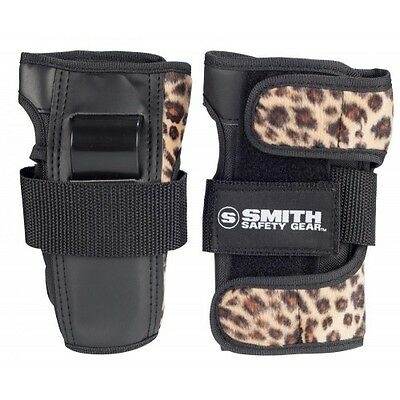 Smith Scabs Brown Leopard Wrist Guards
