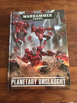Warhammer 40k Planetary Onslaught Book