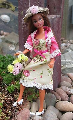 OOAK Palitoy Pippa/Dawn Doll Summer Dress and Accessories