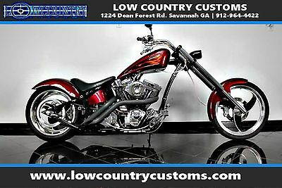 2007 Custom Built Motorcycles Chopper  OFTAIL CUSTOM CHOPPER S&S 250 REAR LOW RESERVE PROSTREET IRON HORSE BIG DOG