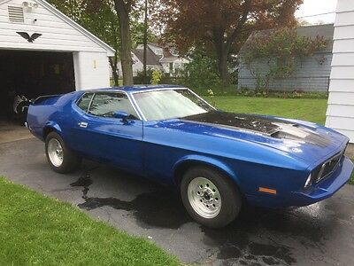 1973 Ford Mustang Fast back 1973 Ford Mustang fastback Mach 1 with a 429