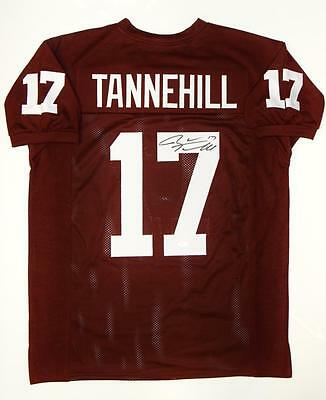 Ryan Tannehill Autographed Maroon College Style Jersey- JSA Witnessed Auth 8a2f74237