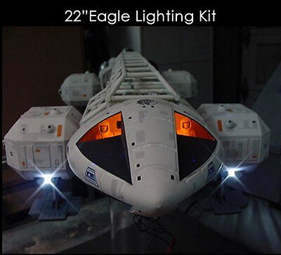 """Space 1999 Eagle Transporter 22"""" Long 1/48th Scale Lighting Kit for MPC 189VO01"""