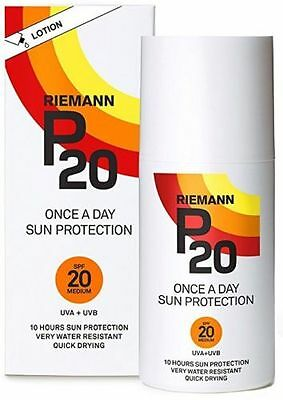 Riemann 200Ml P20 Sun Protection Lotion 10 Hours Protection Quick Dry