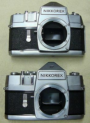 Nikkorex F 35 Camera X2 / Body Only / Function Fine / Not Tested With Film