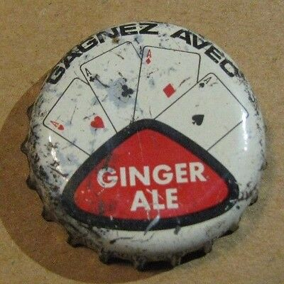 Gagnez Aveo Ginger Ale Soda  4 Aces Poker Cards Cork Soda Bottle Cap  Canada