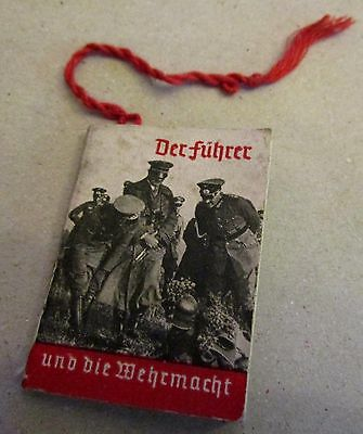Mini booklet : the leader and the Wehrmacht