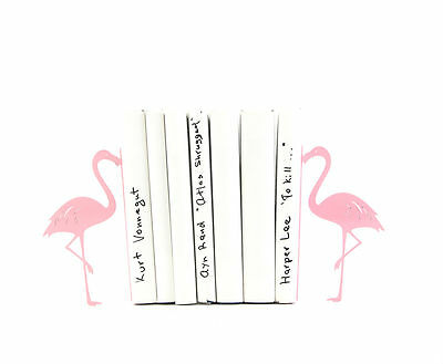 Atelier Article - Gift Steel bookends - Flamingo (Pink)