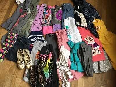 Winter Fall Girls Size 8 Clothes Lot Skirts Shirts Shoes Gap Old Navy Justice