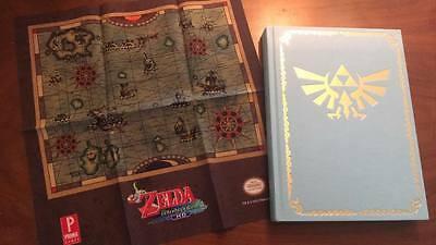 Legend of Zelda Wind Waker Collector's Nintendo Strategy Guide w/ Cloth Map