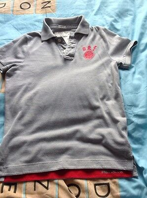 boys 10-11 abercrombie & fitch polo shirt