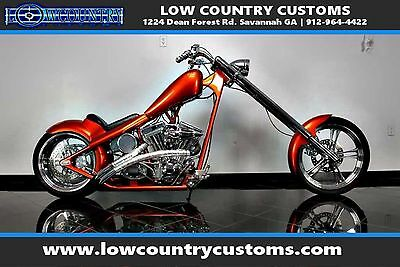 2003 Custom Built Motorcycles Chopper  custom hardtail chopper huge 280 rear tire prostreet beast