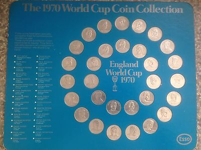 Esso The 1970 World Cup Coin Collection