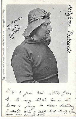 1904 Beccles duplex pm Tuck The Coxwain of the Lifeboat no 1496