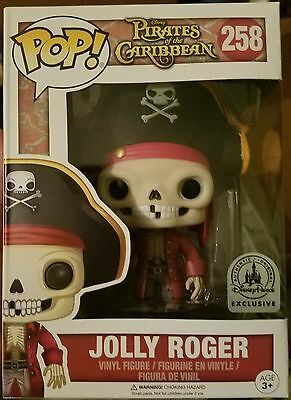 Disney Exclusive Funko Pop JOLLY ROGER Pirates Of The Caribbean In Hand ...