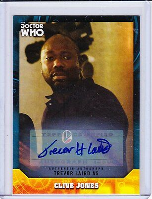 Doctor Who Signature Series Trading Card Autograph Trevor Laird
