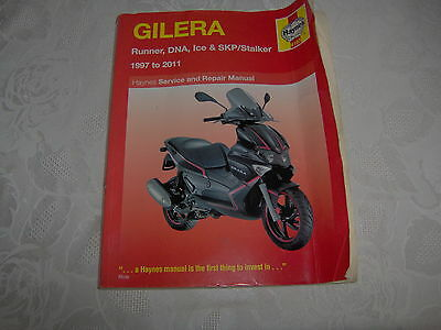 Gilera Runner/ Dna/ Ice/ Skp/ Stalker Haynes manual