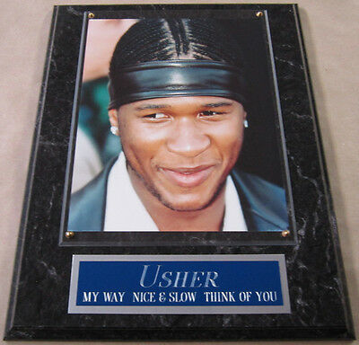 #1 Fan Usher Framed 8 X 10 Photo 12 X 15 Wall Plaque Display