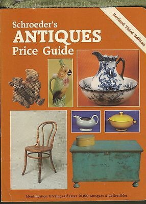 Schroeders Antiques Price Guide Revised 3rd Edition