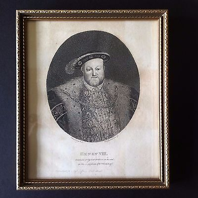 Antique framed early 19th century prints---set of 5