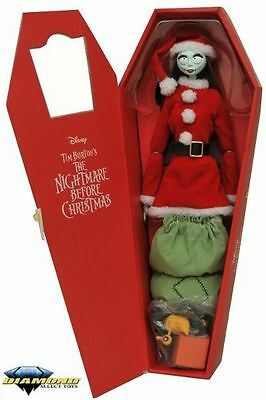 Nightmare Before Christmas Santa Sally Coffin Doll *BOX DAMAGED*