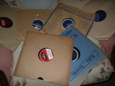 78RPM RECORDS OF JAZZ/SWING-SET OF EIGHT(set 35)