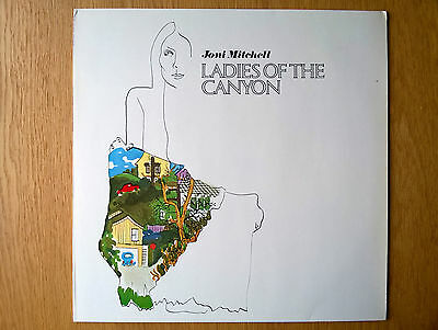 Joni Mitchell - Ladies Of The Canyon (Reprise, 1970) Ex+/NM