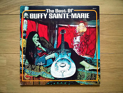 Buffy Sainte-Marie ‎– The Best Of Buffy Sainte-Marie (Vanguard, 1972) Ex/NM