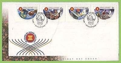 Singapore 1997 30th Anniv of A.S.E.A.N.  First Day Cover