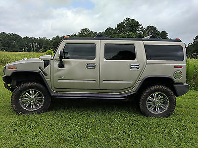 2004 Hummer H2  2004 Hummer H2 4WD 4dr SUV (6.0L 8cyl 4A)