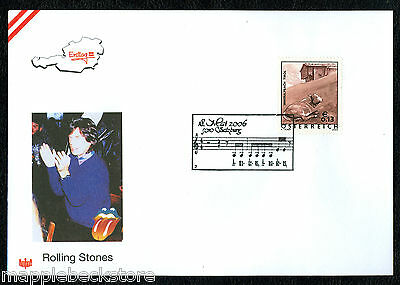 Mick Jagger - Rolling Stones - First Day Cover Austria 2006