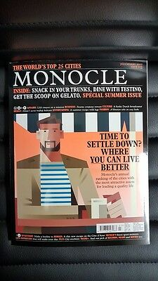 Monocle - UK - July.Aug 2017 - £7 - worlds top 25 cities 899er