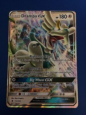 Drampa GX Guardians Rising Pokemon Card
