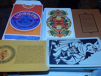 collectible Linweave TAROT CARDS  very good cond. complete